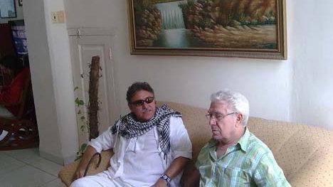 Jesús Santrich en la entrevista con Tony López de Resumen Latinoamericano