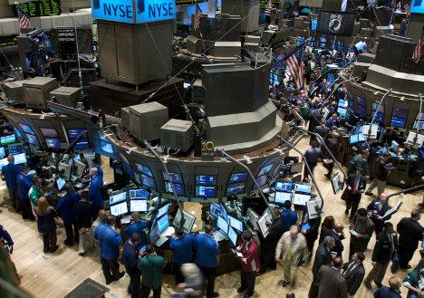Las bolsas de valores, fuente de especulación.