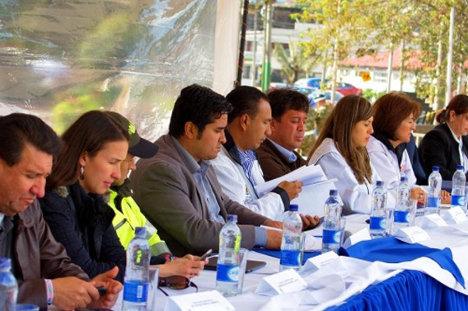 El año pasado el alcalde de Engativá declaró como zona especial El Minuto de Dios para controlar el espacio público y así evitar delitos. Foto Alcaldía de Engativá.