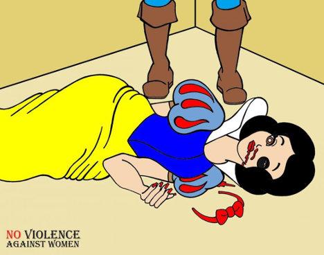 Ilustracion violencia contra mujer