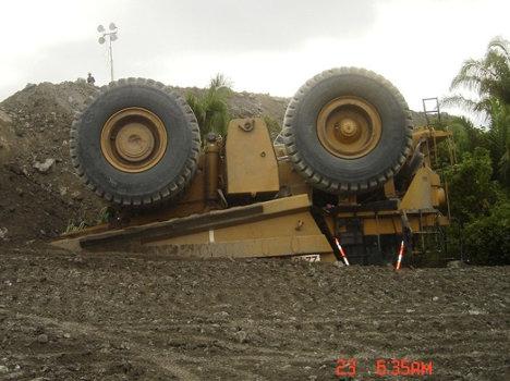 Accidente en Mina de Drummond. Foto Juan Carlos Ortega.