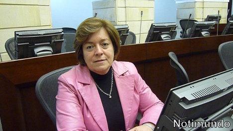 Senadora Gloria Inés Ramírez. Ponenete de Ley Rosa Elvira Celly contra el feminicidio
