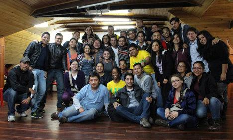 Pleno de la JUCO reunido en Bogotá.