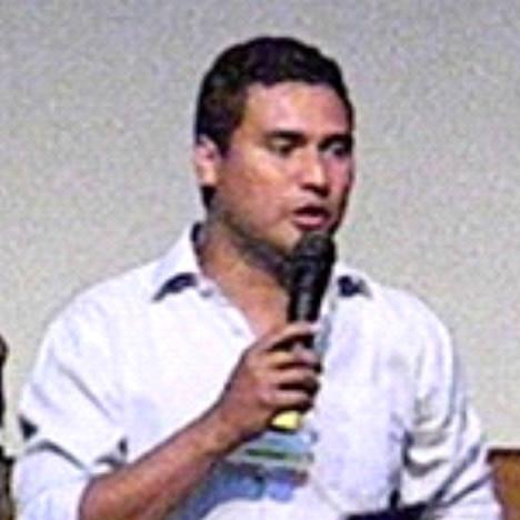 Foto en X Festival-Bucaramanga, noviembre de 2013.