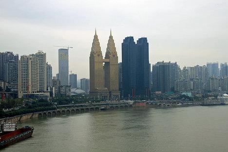 Ciudad de Chongqing (China). Foto: currently on a world trip, mademoiselleroy.com via photopin cc