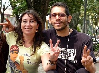 Liliany Obando y Miguel Ángel Beltrán