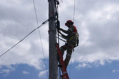 Trabajador de empresa de Telecomunicación de Pereira.