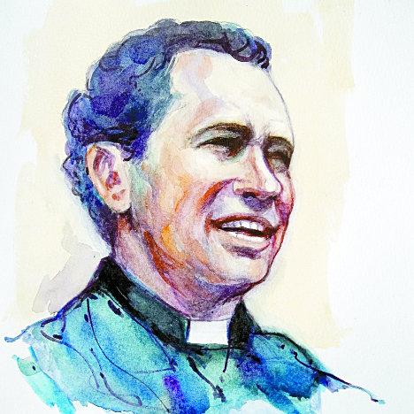 Camilo Torres, retrato de Calarcá