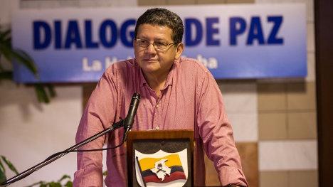 Pablo Catatumbo, comandante de las FARC-EP, recordó que hay por lo menos 28 puntos gruesos sin resolver en las negociaciones de La Habana.