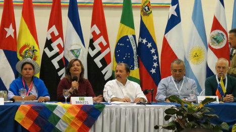 El Foro de Sao Paulo pidió el cese bilateral del fuego y el desescalamiento del conflicto.