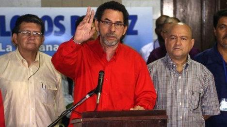Pastor Alape, del equipo negociador de las FARC.