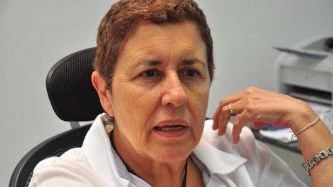 Ana Sofía Mesa, ex rectora de la Universidad del Atlántico