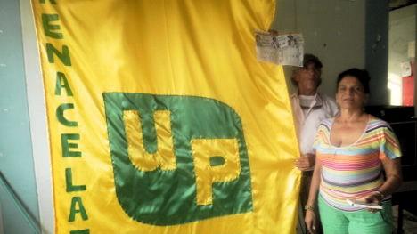 Camarada Lily Ipuz Medina, símbolo de unidad y compromiso revolucionario. Foto Nelosi