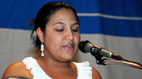 Olga Lucía Quintero, líder campesina del Catatumbo