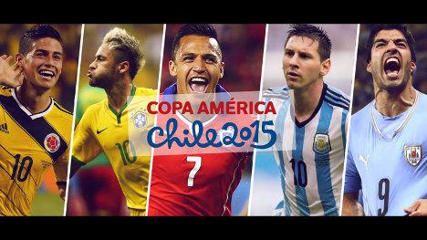 Jugadores Copa America Chile 2015 Vision