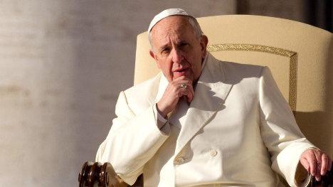 Papa Francisco, máximo jerarca de la Iglesia Católica.