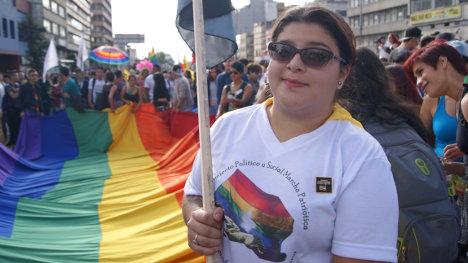 Paula Márquez, líder de la ciudadanía LGBTI.