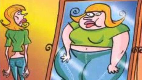 Anorexia Ilustracion pag mujer