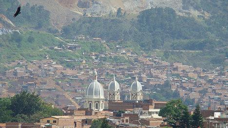 Panorámica de Bello (Antioquia). Foto: Bello via photopin (license)