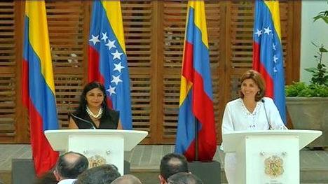 Las diplomáticas de ambos países aseguraron que el encuentro fue productivo/Foto: Telesur