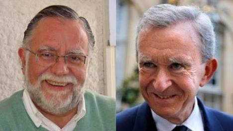 José Bayardi, delegado de Unasur, y Jean Arnault, delegado de la ONU.