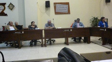 Elección de la mesa directiva de la Unión Patriótica en Calarcá. Foto: Crónica del Quindío.