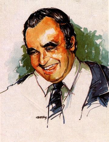 Jaime Pardo Leal. Dibujo de Calarcá.