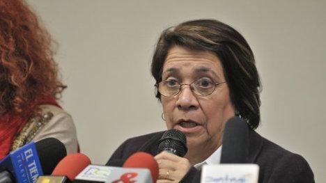 Aída Avella, candidata al Concejo por la UP.