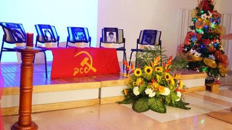 Homenaje martires JUCO Medellin - ddhh 2