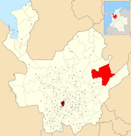 Ubicación de Remedios en Antioquia
