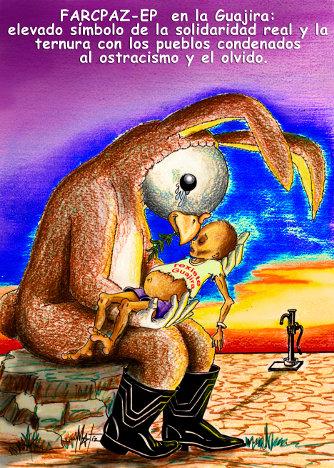 Ilustracion EL DIA QUE LA PAZ SE VISTIO DE CONEJO