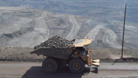 Mina de carbón Cerrejón.