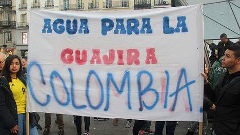 Foto: Manifestación de Colombianos en Madrid. Johnatan Clavijo via photopin (license)