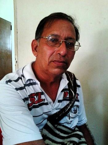 Nelson Viloria Larios, secretario general de la Asociación Agraria campesina del departamento del Atlántico – Asoagro-