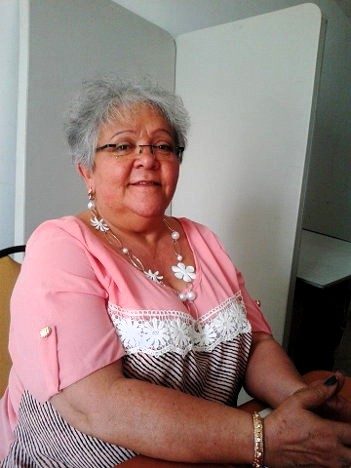 Imelda Daza, destacada figura del partido Unión Patriótica –UP-