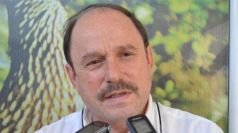 Ricardo Alvarado, gobernador de Arauca.