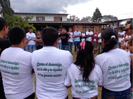 Segunda escuela juvenil agraria en el Cauca.