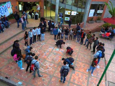 Acto de solidaridad con Miguel Ángel Barbosa.