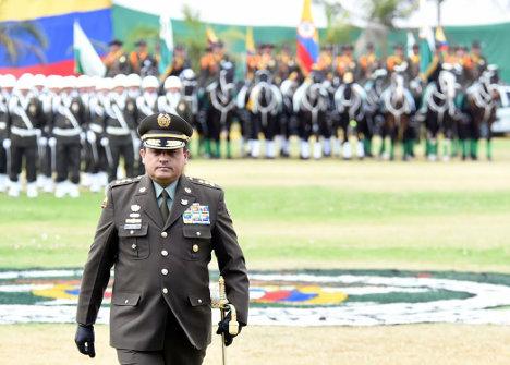 General Jorge Hernando Nieto, director de la Policía.