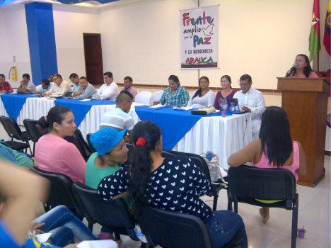 Frente Amplio por Paz- Arauca