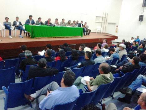 Foto: Encuentro Social y Sindical en la ADE sur