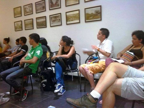 Seminario Departamental de Comunicación popular Marcha Patriótica 03