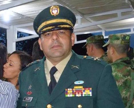 Germán Rojas Díaz, comandante de la XVII Brigada del Ejército