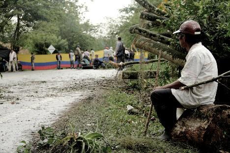 Campesinos levantaron paro a la espera de cumplimientos del Gobierno nacional. Foto Milton Ramírez.
