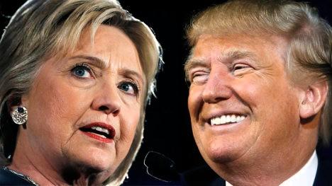 Hilary Clinton y Donald Trump