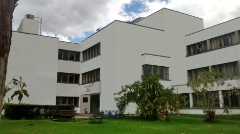 Universidad Nacional principal centro académico del país.