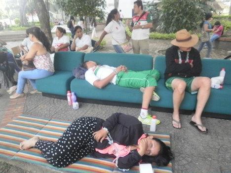 Vista parcial de lo que se vive en el Ducuara de la universidad del Tolima. Foto Nelosi.