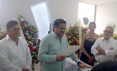 Iván Márquez interviene en los funerales de su señora madre.