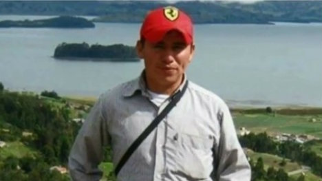 Luis Orlando Saiz, joven asesinado por el Esmad.