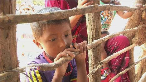 """Los funcionarios acusan a los indígenas por """"no civilizarse"""". Los datos sobre corrupción dicen que el hambre tiene causas estructurales. Foto Archivo."""